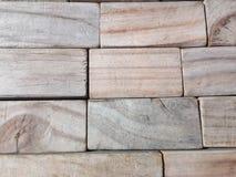 Wood kvarter arkivbild