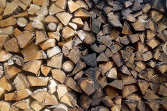 Wood lagring Royaltyfri Fotografi