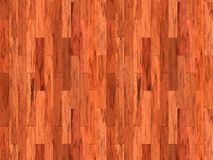 Wood laminate floor background. Background image of nice mahoghany wooden floorboards Royalty Free Stock Photos