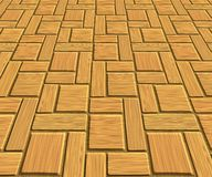 Wood laminate floor tiles Royalty Free Stock Photos