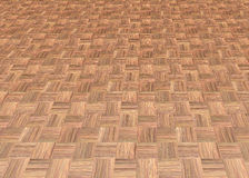 Wood laminate floor tiles Stock Images