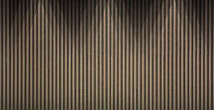 Wood lath wall background Stock Images