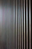 Wood lath wall Royalty Free Stock Images
