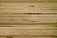 Wood layer texture. Layer close up of laminated wood joist Stock Photos