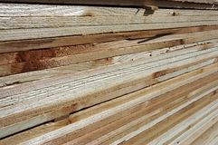 Wood layers Stock Photo