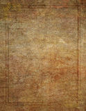 Wood Like Background with Corner Design Border Stock Image