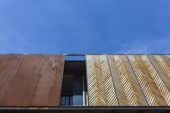 Wood listbakgrund Arkivbild