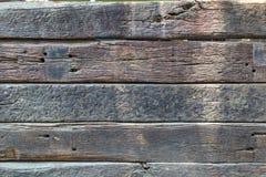 Wood listtextur som malas tillbaka Royaltyfria Bilder