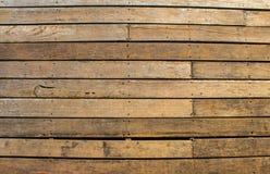 Wood listtextur som malas tillbaka Royaltyfri Bild