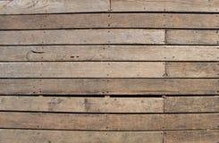Wood listtextur som malas tillbaka Arkivbilder