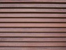 Wood listvägg Arkivbild