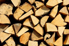 Wood log. A wood log with a lot of wood Royalty Free Stock Image