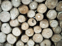 Wood log background stock images