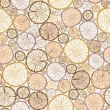 Wood log cuts seamless pattern background Stock Photography