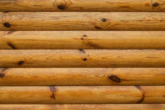 Wood logs background Stock Image