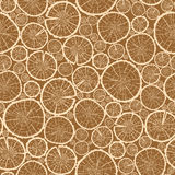 Wood logs cuts seamless pattern background Stock Photo