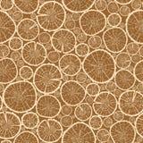 Wood logs cuts seamless pattern background Stock Photo