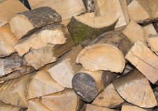 Wood logs ready for use. Stock Photography
