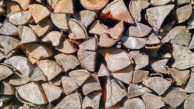 Wood logs texture royalty free stock photo