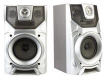 Wood Loud Speakers Royalty Free Stock Photos