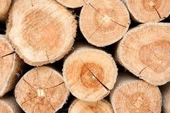 Wood lumber background Royalty Free Stock Photo
