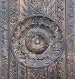 Wood mandalarostextur Royaltyfri Fotografi