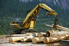 Wood Manufacturing stock photography