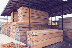 Wood marknad Arkivbild