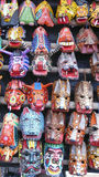 Wood masks. Guatemala Royalty Free Stock Photography