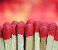 Wood matches background Royalty Free Stock Photos
