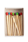 Wood matches - multicolored concept Royalty Free Stock Images