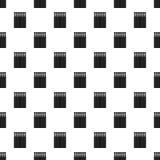 Wood matches pattern seamless vector stock illustration