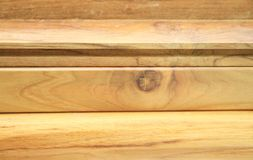Wood material for construction Royalty Free Stock Photos