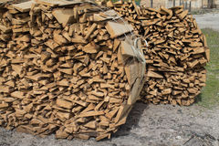 Wood materiel Royaltyfri Bild