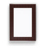 Wood metal  frame Stock Images
