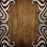 Wood and metal Stock Photo