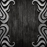 Wood and metal Royalty Free Stock Photos