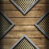 Wood Metal Stock Images