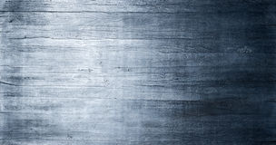Blue Wood Metallic Texture Background. A rustic wood banner background with blue metallic tones Royalty Free Stock Image