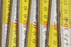 Wood meter Stock Image