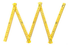 Wood meter Stock Images