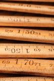 Wood Meter Stock Photo