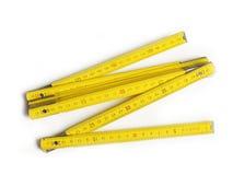 Wood meter Royalty Free Stock Image