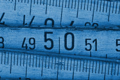 Wood meter close up Stock Images