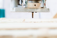 Wood milling machine Stock Photos