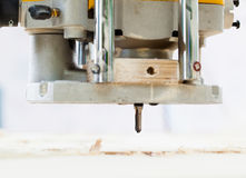 Wood milling machine Royalty Free Stock Photography