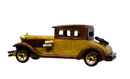 Wood model car Stock Photography