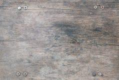 Wood modell för Closeupyttersida på den gammal och för tabelltextur för spricka wood bakgrunden fotografering för bildbyråer
