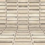 Wood modellbakgrund inget spika Arkivbilder