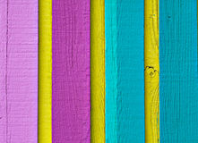 Wood in multi color. Vertical wood in multi color Royalty Free Stock Photo